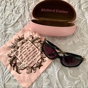 Juicy Couture Oversize Peace Sunglasses